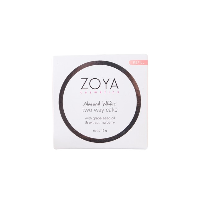 Zoya Cosmetics Natural White Facial Wash. Source · Two Way Cake Refill: Sand: Rp 42.000