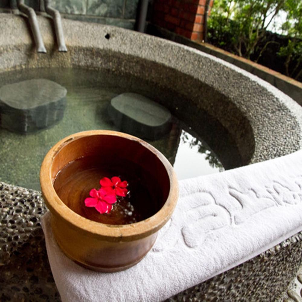 【新竹】石上湯屋渡假村-雙人標準湯屋90分鐘泡湯券