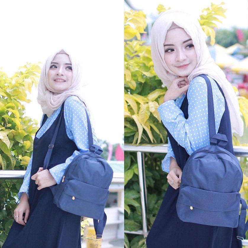 EL Piaza Mini Ransel Backpacks Kanvas Tas Ransel Motif / Sling Bag / Tas Slempang -
