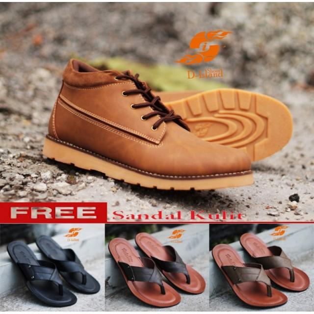 D Island Shoes Boots Harren High Top Quality Kulit Asli Models And Source · D Island