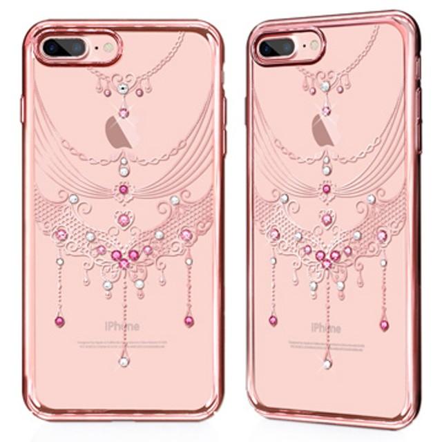GARMMA iPhone 7/8 4.7吋-施華洛水鑽硬式保護殼-蝶舞翩翩