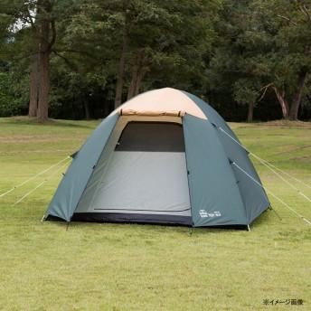【送料無料】BUNDOK(バンドック) ドーム型テント5 UV グリーン BDK-76