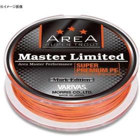 モーリス(MORRIS) VARIVAS スーパートラウトエリア マスターリミテッドスーパープレミアムPE 75m 0.175号/5lb サイトオレンジ