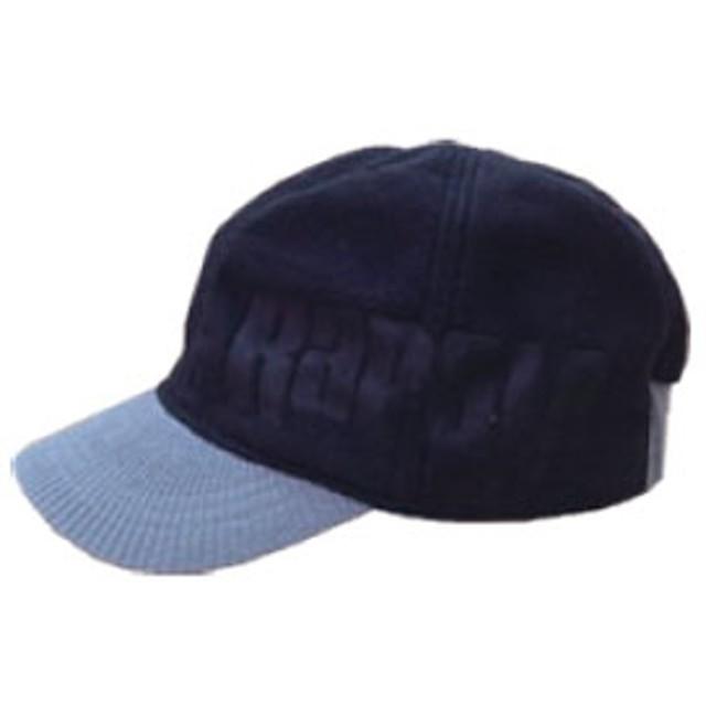 Rapala(ラパラ) Emboss Logo Fleece Cap ブラック×グレー RC-155BG
