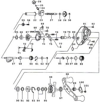 ダイワ(Daiwa) パーツ:スマックレッドチューン 100R メカニカルブレーキOリング No088 10J:002