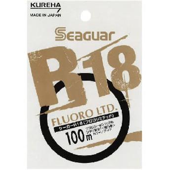 クレハ(KUREHA) シーガー R18フロロリミテッド 100m 1lb クリアー