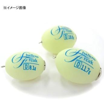 アルカジックジャパン (Arukazik Japan) シャローフリーク Dive 8.1g ホワイトグロー 25014