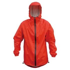GIZA PRODUCTS(ギザプロダクツ) レイン ジャケット L レッド WEC13401