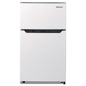 ハイセンス 2ドア冷蔵庫(93L・右開きタイプ) HR-B95A-W (ホワイト)