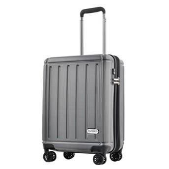TSAロック搭載スーツケース(38L) OD-0692-48 (ブラックカーボン)