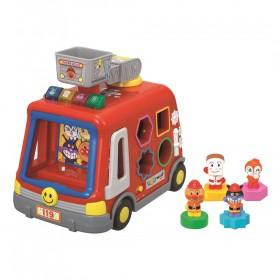 アンパンマン 音と光と手遊びいっぱい!DXパズル消防車【送料無料】