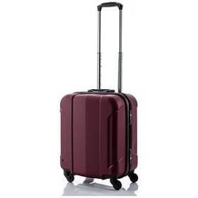 HIDEO.W TSAロック搭載フレームスーツケース「GRAN GEAR」Sサイズ(37L)ワインレッド 6296783(H03