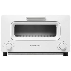 バルミューダ オーブントースター「BALMUDA The Toaster」(1300W) K01E-WS WhitexSilver