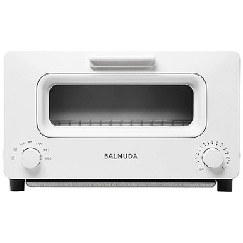 バルミューダ オーブントースター「BALMUDA The Toaster」(1300W) K01E-WS WhitexSilver