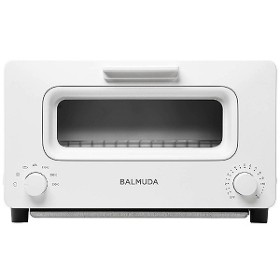 バルミューダ オーブントースター BALMUDA The Toaster [1300W/食パン2枚] K01E-WS WhitexSilver