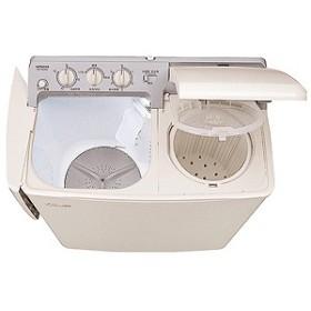 日立 2槽式洗濯機(4.5kg) PS-H45L-CP (パインベージュ)