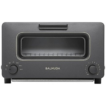 バルミューダ オーブントースター「BALMUDA The Toaster」(1300W) K01E-KG BlackxGold