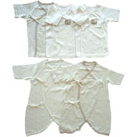 【ベビーザらス】オーガニック新生児肌着5点セット(50-60cm)