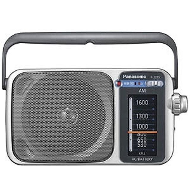 パナソニック Panasonic AM ホームラジオ R-2255