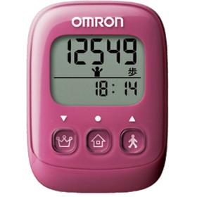 オムロン OMRON 歩数計 HJ-325-PK (ピンク)