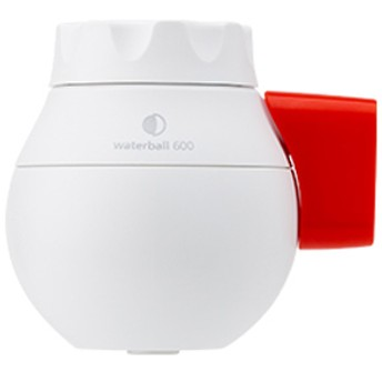 東レ 蛇口直結型浄水器 「waterball(ウォーターボール)」 WB600B-R (ホワイト/レッド)