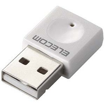 エレコム 無線LANアダプター(11n/g/b 300Mbps・ホワイト) WDC-300SU2SWH