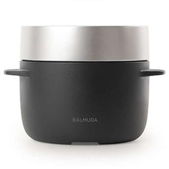 バルミューダ 炊飯器「BALMUDA The Gohan」(3合) K03A-BK (ブラック)