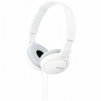 ソニー SONY ステレオヘッドホン MDR-ZX110/W (ホワイト)
