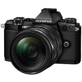 オリンパス OLYMPUS ミラーレス一眼カメラ OM-D E-M5 Mark II ブラック(12-40mm F2.8 レンズキット)