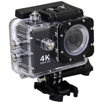 SAC マイクロSD対応 防水ハウジングケース付きアクションカメラ AC600(ブラック)
