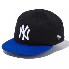 New Era ニューエラ NY ニューヨークヤンキース メジャーリーガーベースボールキャップ MY 1st 帽子(ブルー×48-50cm)【送料無料】
