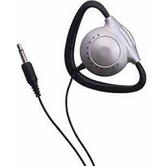 ヤザワコーポレーション 耳かけ型モノラルヘッドホン(シルバー) 3.0mコード TH110SV