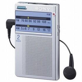 ソニー SONY FM/AMポケッタブルラジオ ICF-T46