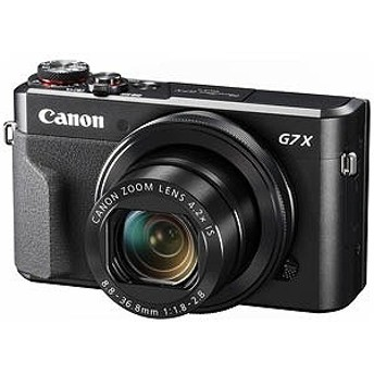 キヤノン CANON コンパクトデジタルカメラ PowerShot(パワーショット) G7 X Mark II PSG7XMARKII
