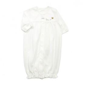 【愛情設計】ベンリードレス(2WAYドレス)☆低刺激素材(オフホワイト・50~60cm)夏用★日本製★