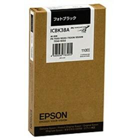 エプソン EPSON インクカートリッジ (フォトブラック) ICBK38A (フォトブラック)