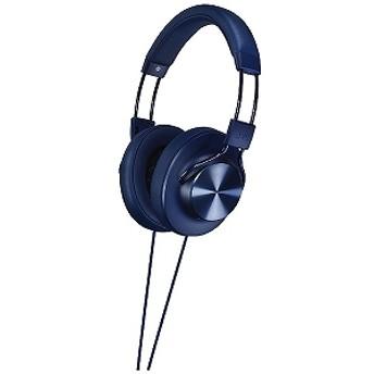 JVC・ビクター (ハイレゾ音源対応)ヘッドホン SOLIDEGE(ブルー)1.2mコード HA-SD7-A