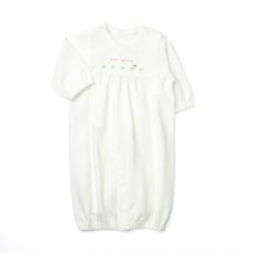 【愛情設計】ベンリードレス(2WAYドレス)☆低刺激素材(オフホワイト・50~60cm)オールシーズン用★日本製★