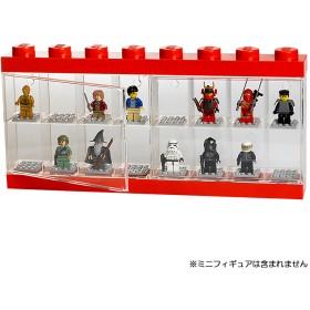 レゴ ミニフィギュアディスプレイケース 16個用(レッド)40660001【クリアランス】
