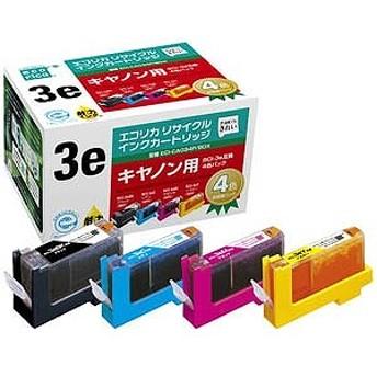 エコリカ リサイクル・リユース製品 インクカートリッジ キヤノン互換製品 ECI-CA034P/BOX
