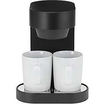 プラマイゼロ コーヒーメーカー XKC-V110-B (ブラック)
