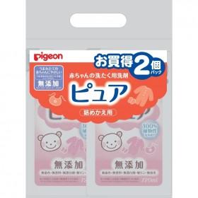 赤ちゃんの洗たく用洗剤ピュア 詰めかえ用 720ml×2個パック