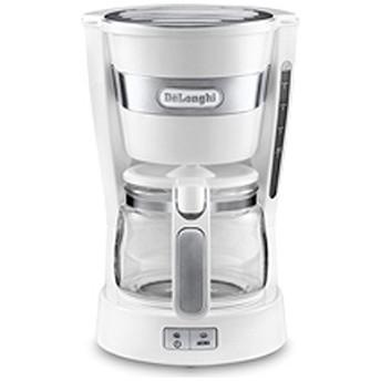 デロンギ ドリップコーヒーメーカー (5杯分) ICM14011J-W/ホワイト
