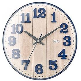 掛け時計「ブリュレ」 FEW181NBZ (ネイビーブルー)