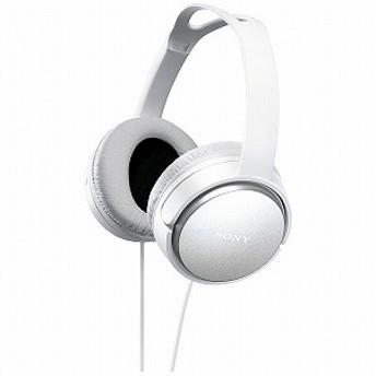 ソニー SONY ステレオヘッドホン MDR-XD150 (W)ホワイト