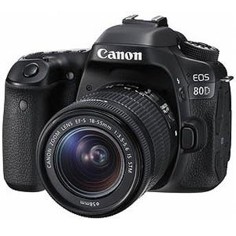 キヤノン CANON デジタル一眼レフ EOS 80D「EF-S 18-55 IS STM レンズキット」 EOS80D1855ISSTMLK