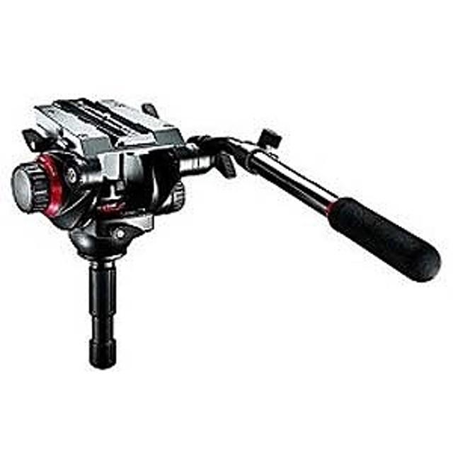 マンフロット プロフルードビデオ雲台 75mm 504HD