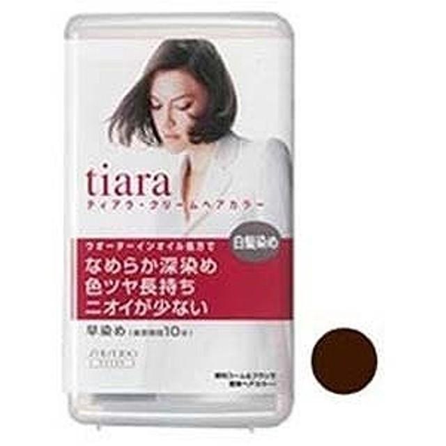 資生堂化粧品 TIARA(ティアラ) クリームヘアカラー 4OR