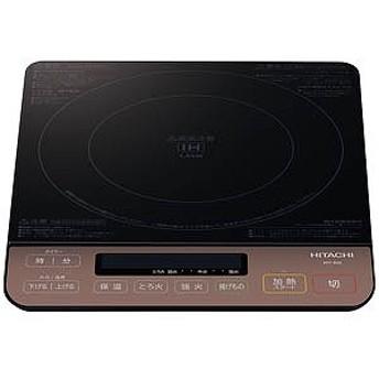 日立 HITACHI IH調理器 (1400W) HIT-S55-B/ブラック
