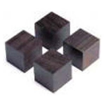 山本音響工芸 アフリカ黒檀製キューブベース (4個1組) QB-3